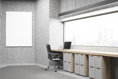 Office with poster Stock Photography