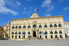 Office of the Prime Minister in Malta Royalty Free Stock Photography