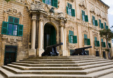 Office of the Prime Minister Valletta Malta Royalty Free Stock Photo