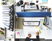 Office Professional Occupation Business Corporate Concept Royalty Free Stock Photography