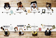 Office Professional Occupation Business Corporate Concept Royalty Free Stock Images