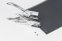 Office Puncher Unit  on white. Background Royalty Free Stock Photo