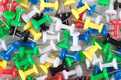 Office push pins Stock Photo