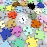 Office-Puzzle Royalty Free Stock Photo