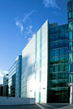 Office quart. Business part of town with office buildings Stock Photos