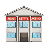 Office real estate agency.Realtor single icon in cartoon style vector symbol stock illustration web. Stock Photography