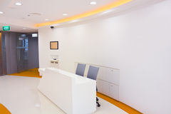 Office reception area Stock Photography