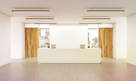 Office reception Royalty Free Stock Photo