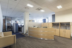 Office reception Stock Images