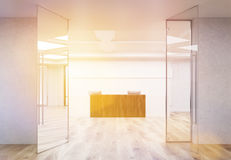 Office reception toning Stock Images