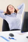 Office relaxation Royalty Free Stock Photography