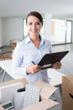 Office relocation checklist Royalty Free Stock Photo