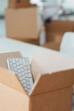 Office relocation Royalty Free Stock Image