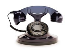 Office Retro Telephone Stock Photo