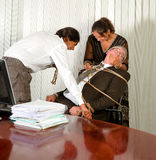 Office revenge Royalty Free Stock Image