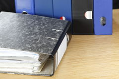 Office ring binder Stock Image