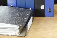 Office ring binder Stock Image
