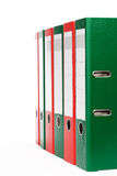 Office ring binders Stock Photos