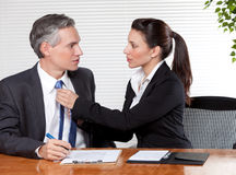 Office Romance Stock Images