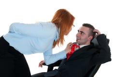 Office romance Stock Photos