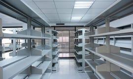Office room - bookshelf Stock Photo