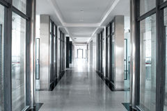 Office room corridor Royalty Free Stock Image