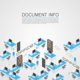 Office room it development Stock Image