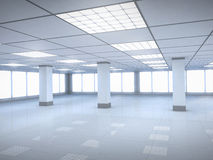 Office room empty Royalty Free Stock Image