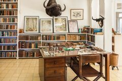 Office room of Ernest Hemingway house in Havana
