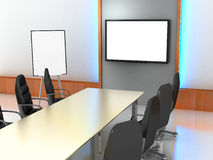 Office-room, presentation Stock Images