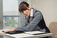 The office routine Stock Photography
