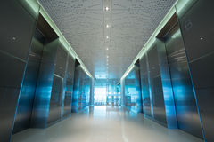 Office's lift lobby Stock Images