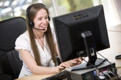 Office Scene Stock Photo