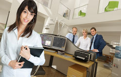 Office scenes Stock Photo