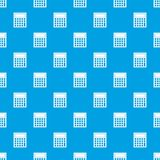 Office, school electronic calculator pattern seamless blue. Office, school electronic calculator pattern repeat seamless in blue color for any design. Vector Royalty Free Stock Photography