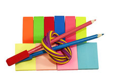 Office and school supplies Stock Photography