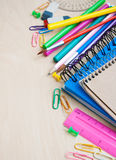 Office or school supplies Royalty Free Stock Photos