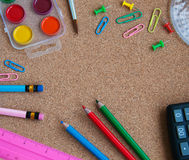 Office or school supplies Stock Photo
