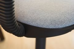Office Seat. A close-up of an office-seat Stock Photos