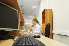 Office secretary Stock Photography