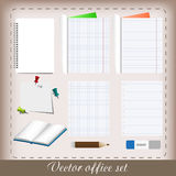 Office set Stock Images