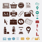 Office set Royalty Free Stock Photos