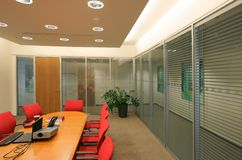 Office setting Stock Photos