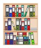 Office shelf Royalty Free Stock Photography