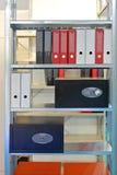 Office shelf Royalty Free Stock Image