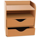 Office shelves Organizer Stock Images