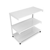 Office shelving unit on wheels Stock Photos