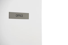 Office Sign Stock Photo