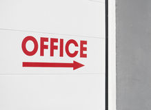 Office sign Royalty Free Stock Photo