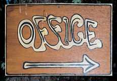 Office Sign Stock Image